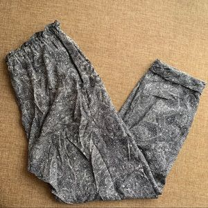 Wilfred Pants - WILFRED PAISLEY SILK TROUSER